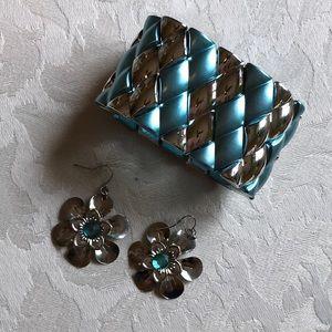 Jewelry - Bracelet & Matching Earrings
